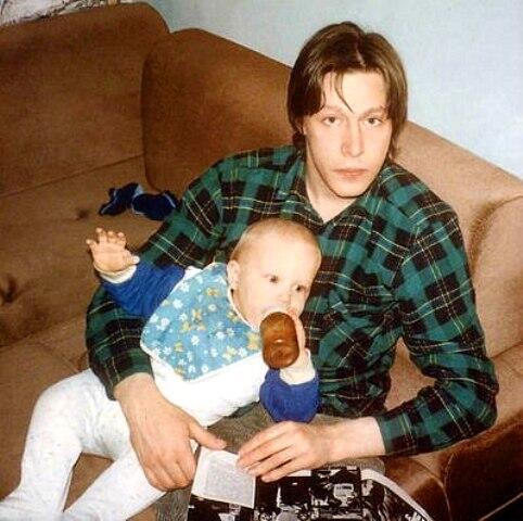 Михаил Ефремов с сыном Никитой