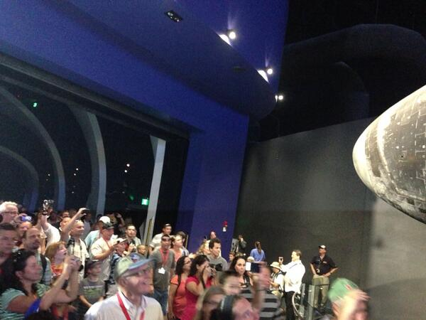 The first public view of #shuttleatlantis! pic.twitter.com/vW1cqHMKKZ