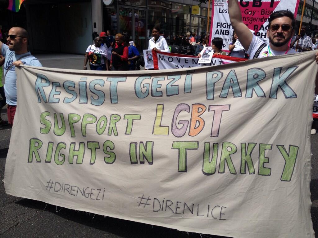 "philip arditti on Twitter: ""At the London gay pride http://t.co/ok5AzeWC4B"""