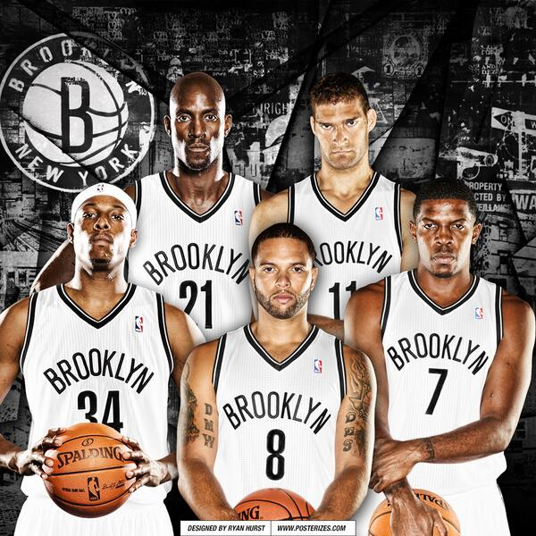 Posterizes On Twitter Your Newest Brooklyn Nets