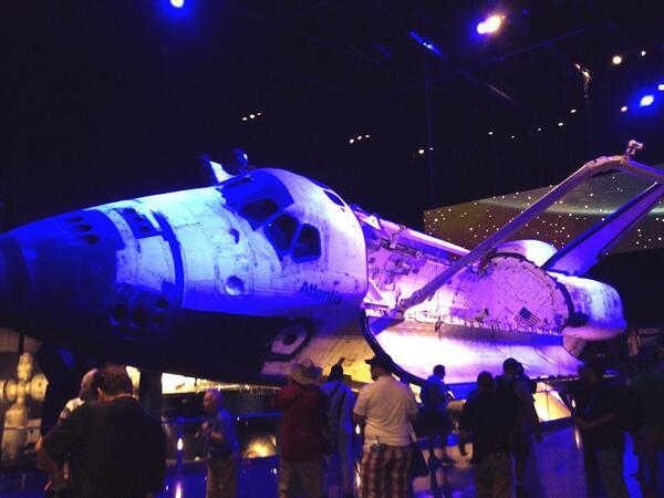 #ShuttleAtlantis is Space-tacular! @ExploreSpaceKSC pic.twitter.com/SLHz7Q98dB