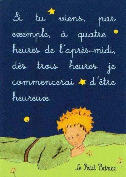 Espacefrancais Com På Twitter Citation Le Petit Prince D