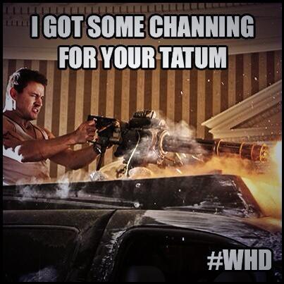 Channing Tatum - Magazine cover