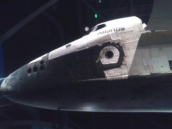 You can see Your #SpaceShuttleAtlantis from just about any angle at @ExploreSpaceKSC :D pic.twitter.com/zrMUUDJiCh