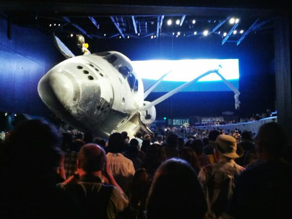 Home from #ShuttleAtlantis. Incredible. Gorgeous. @ExploreSpaceKSC knocked it out of the park. I'll get back soon! pic.twitter.com/8OkwDOhGy5