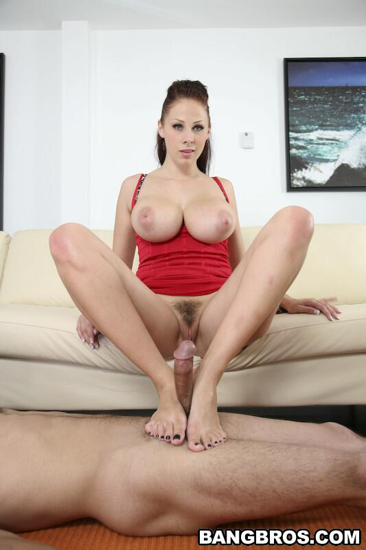 Big titted carmella bing does titjob and cowgirl 10