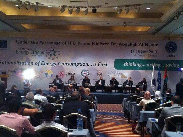 """Live from the """"Rationalization of Energy Consumption is first"""" conference http://t.co/jsRM6levZY"""