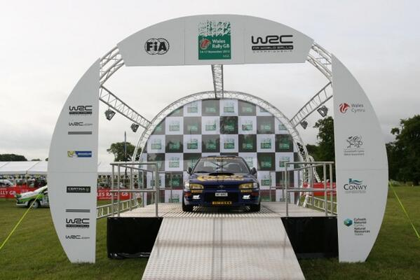 The new starting ramp was on show at the @PageantofPower at the weekend. What do you think of it? Photo: Rallygallery http://pic.twitter.com/g0HXqw9sJb