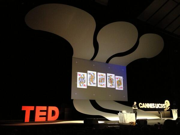 Marco Tempest talking about tech-magic at TED session at #CannesLions pic.twitter.com/tXm2xSvqrU