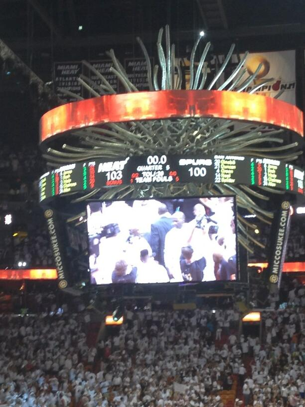 Twitter / vrageous: #Heat win Game 6! #miami ...