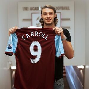 [Video] Andy Carroll speaks to West Ham TV after joining the Irons from Liverpool for £15.5m
