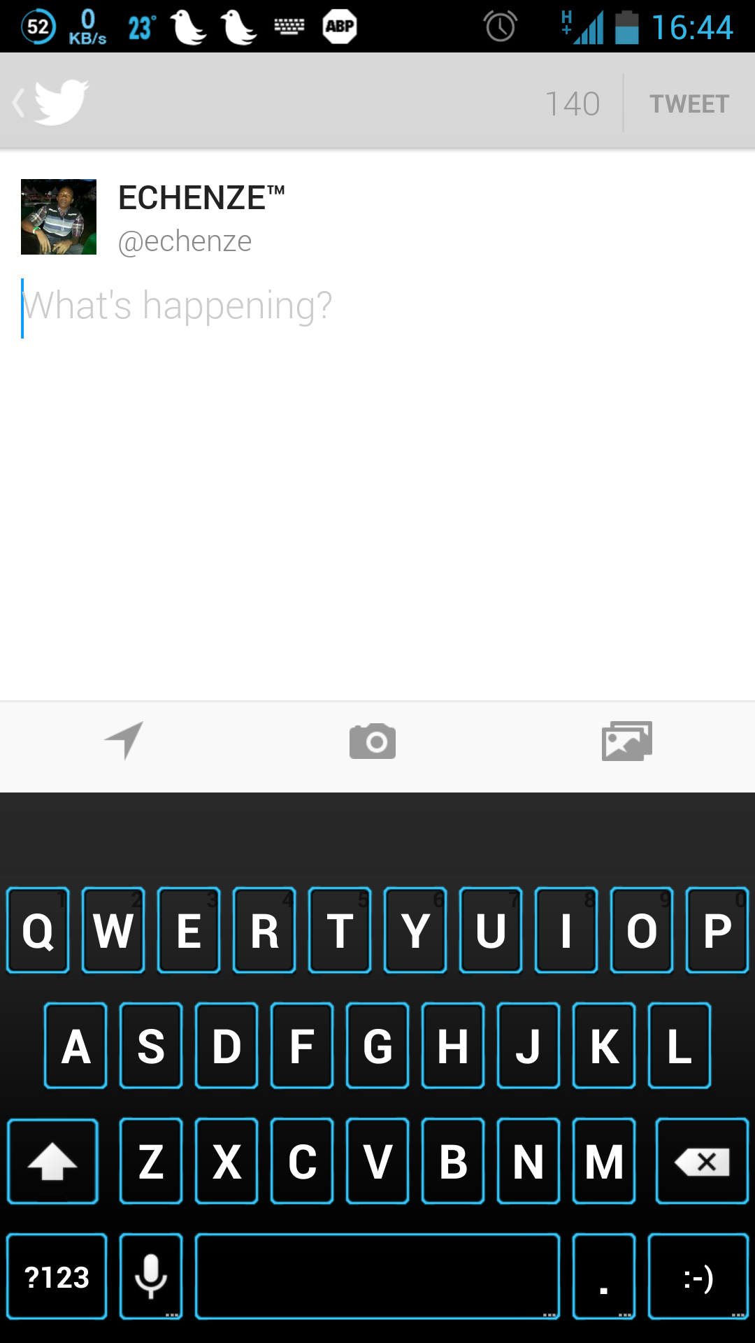 Twitter / echenze: Google Keyboard http://t.co/qUwOS1vGU3
