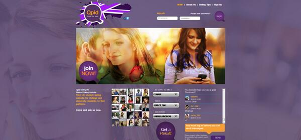 Qpid dating login www