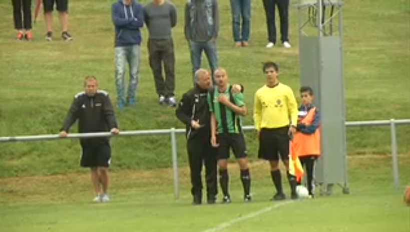 In Pictures: 41 year old Henrik Larsson makes his comeback in the Swedish 4th division