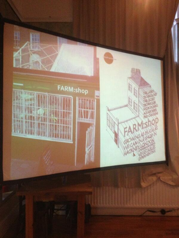 'We wanted to experiment with different food technologies throughout the building' @farmlondon #systemssalon pic.twitter.com/1bOoQzEHUx