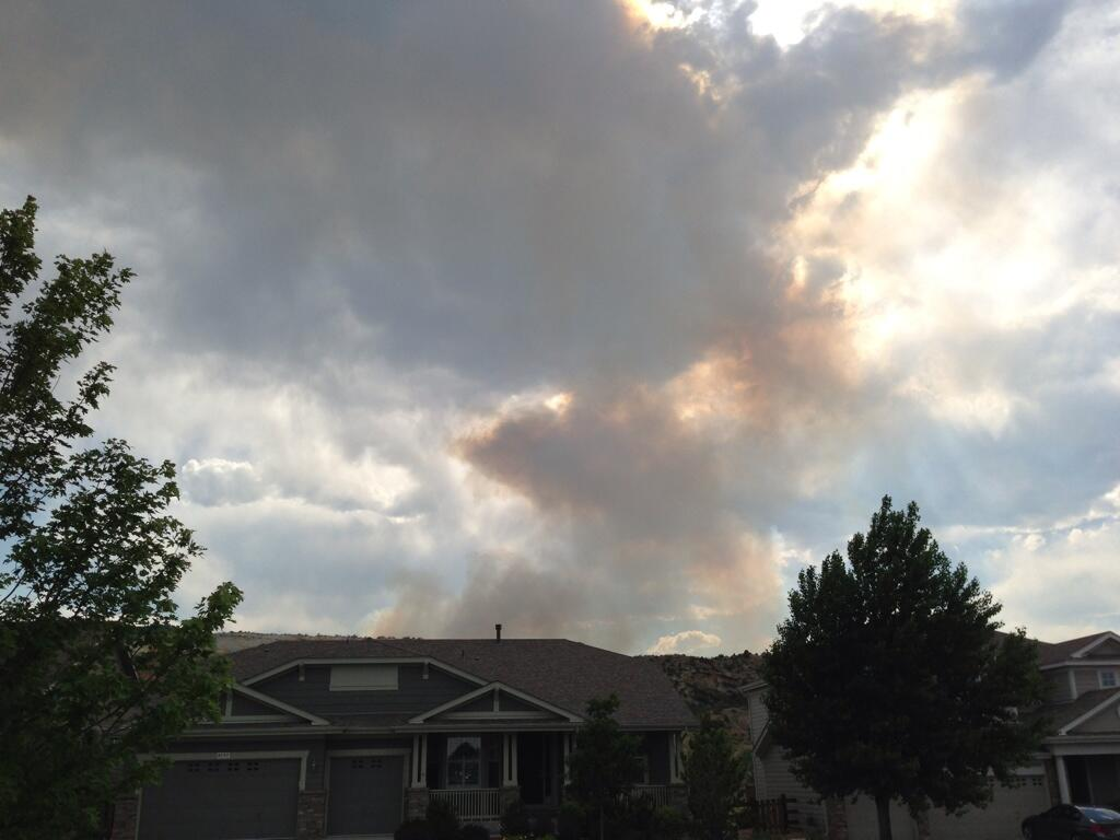 Twitter / chrislovecnm: #LimeGulchFire from my house ...
