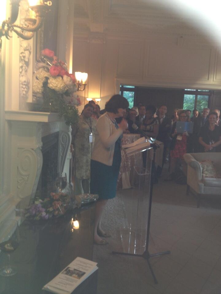 Twitter / mtrconsulting57: Cherie Blair amazing ...