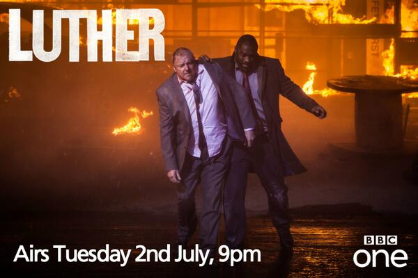 If you missed the news, #Luther series 3 airs Tuesday 2nd July, BBC One, 9pm. Are you ready? RT to spread the word! http://t.co/DvRPQdQZvI