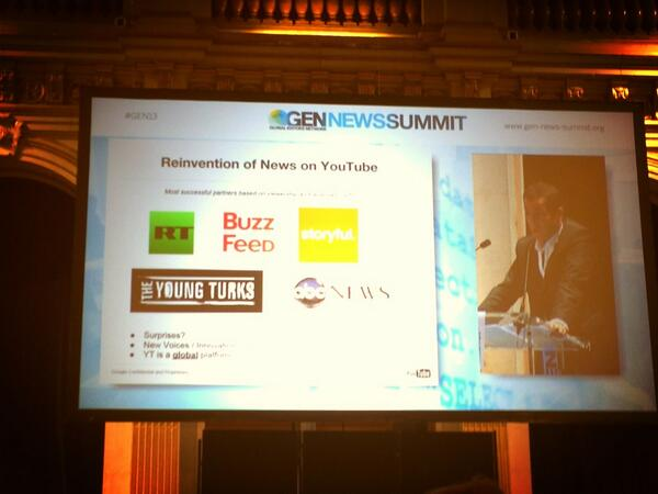Thumbnail for Day 2 of the GEN News Summit 2013: round up