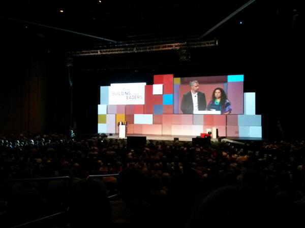 Introducing Blake Mycoskie, of Tom's Shoes, the keynote speaker. #aia2013 pic.twitter.com/n0eVyXxYht