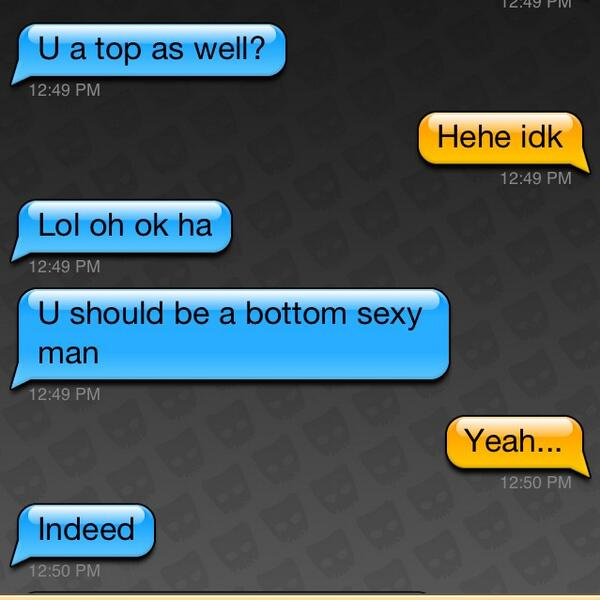 I am a gay bottom
