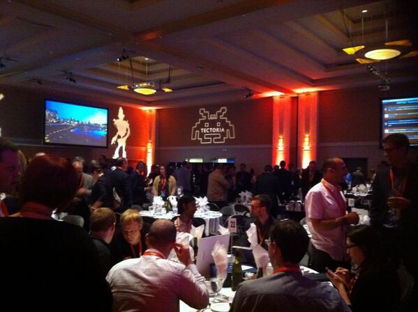 Good crowd at #tectoria awards tonight! pic.twitter.com/zMK3BE6UKk