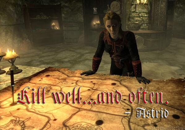 Skyrim Quotes on Twitter: