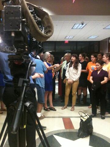 They will know our names in the morning. Not just in Texas or the US but the world. #hb60 #texlege pic.twitter.com/IIOyKOXOMB