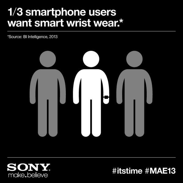 Sony ستكشف عن ساعة ذكية فى 25 يونيو الجارى