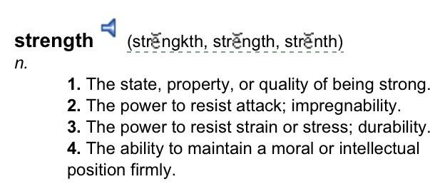 Twitter / MicaelaFitness: Define strength in all ways ...