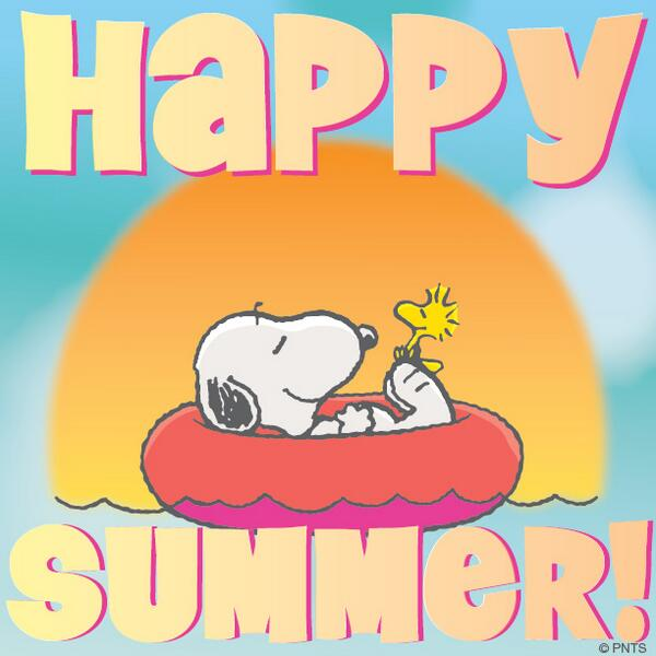 Image result for snoopy summer