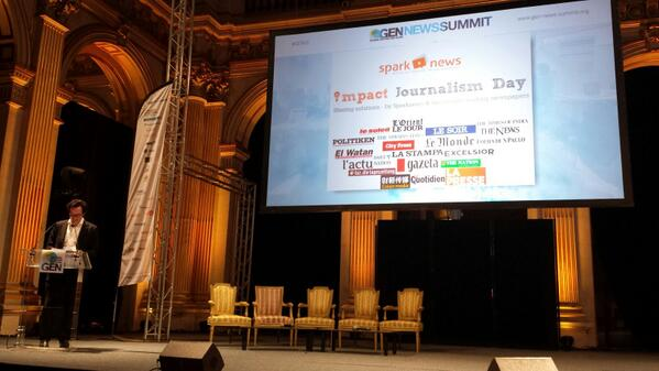 Thumbnail for GEN News Summit 2013: Sparknews, Impact Journalism Day
