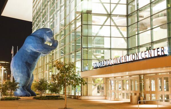 #FridayFavorite: Colorado Convention Center, designed by @FentressArch & #AIA2013 home base. denverconvention.com pic.twitter.com/yT7PXtr6nb