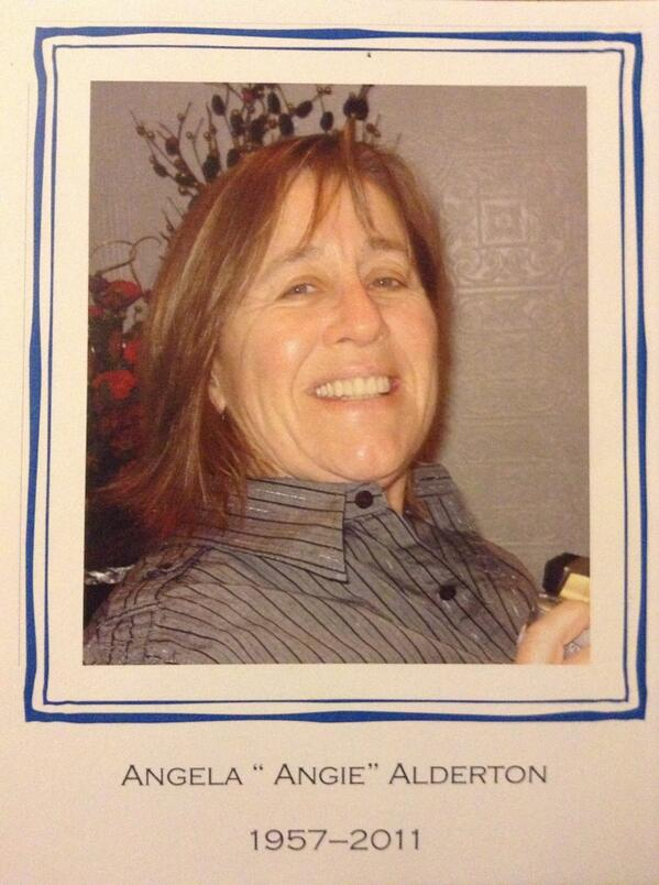 Angie Alderton 1957 -2011