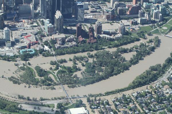 Calgary flood aerial photos Kamloops Airport - Wikipedia