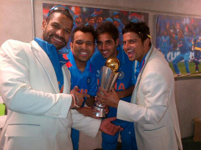 "Suresh Raina on Twitter: ""Champions:):) http://t.co ..."
