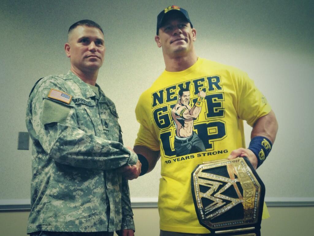 John Cena na spotkaniu w Savannah!