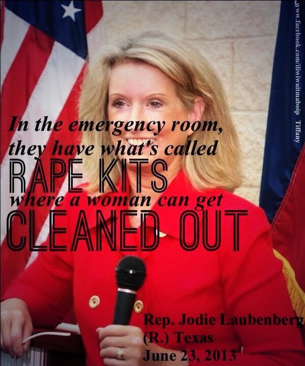 No, jokes are funny. She is dangerous. #UniteBlue >> RT @jennuhlex: This woman is a joke. #txlege http://pic.twitter.com/Kvodj9cBZZ
