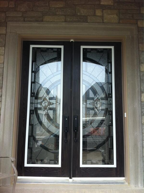 York Supplies On Twitter Decorative Glass Door Insert Installation