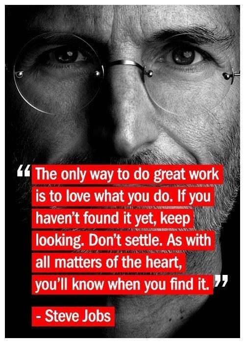 "Poster 24/"" x 16/"" Steve Jobs /""Don/'t Lose Faith/"""