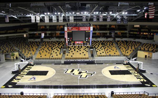 UCF Basketball Program Unveils New Blacktop Court
