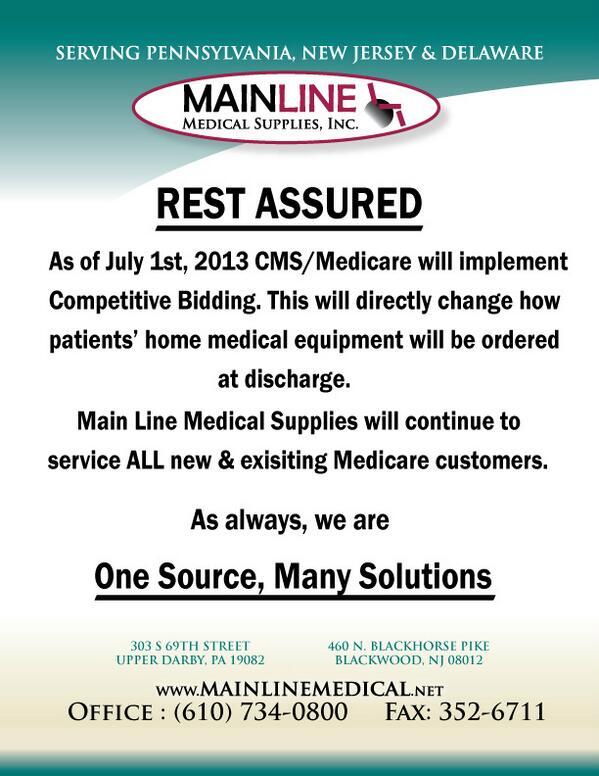 Main Line Medical (@MLMedSupplies) | Twitter
