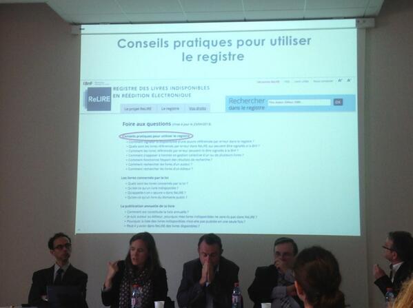 Conseils pratiques pour utiliser le registre #BNF  #ReLIRE #cogitation19 #arl #Rouen pic.twitter.com/6dHAitiKVV