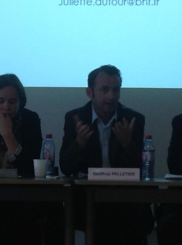 Geoffroy Pelletier est directeur général de la Société des gens de lettres (SGDL). #ReLIRE #cogitation19 #arl #Rouen pic.twitter.com/G2xGY5E4Yr