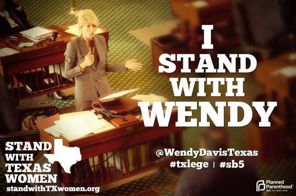 2+ hours into her filibuster & @WendyDavisTexas is NOT slowing down. #SB5 go wendy go! #standwithwendy #SB5 #txlege pic.twitter.com/iHpgmRiDU0
