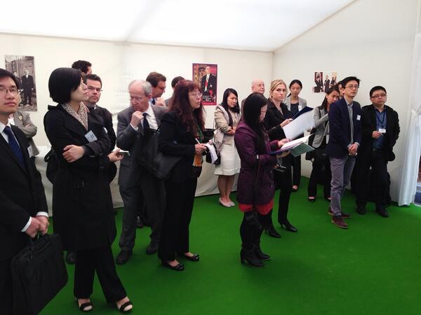 Thumbnail for Visite du Club des entrepreneurs de Chine à la Fondation Charles de Gaulle