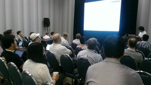 Lots of interest in the #Ambari BoF Session pic.twitter.com/5cXcqt2y5R