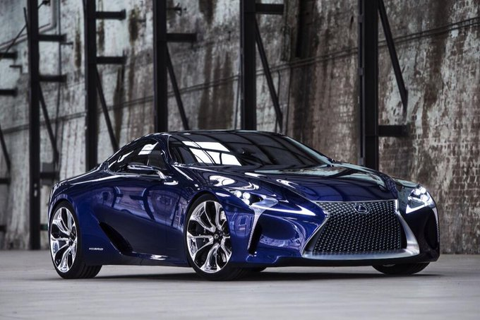 RT @FormulaOneGeek: Lexus LF-LC hybrid concept #drool https://t.co/JhjfwpgQE4