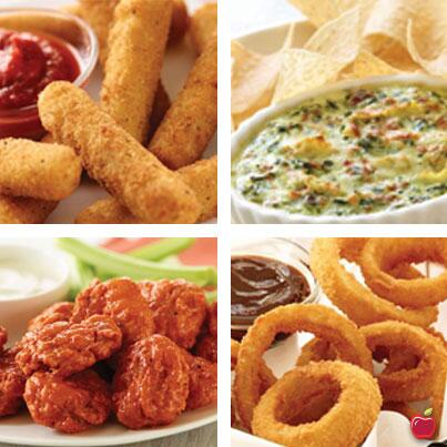 There's an app for that! Munch on half-priced appetizers at Applebee's during happy hour. The restaurant chain is offering the special savings from 3 to 6 p.m. weekdays in the bar at participating.