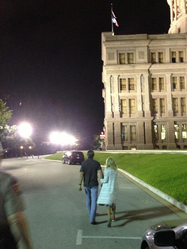 Endless love RT @JuddLegum: Wendy Davis leaves the building, victorious pic.twitter.com/F6NOgXf6J5 #sb5 (via @dedmo)